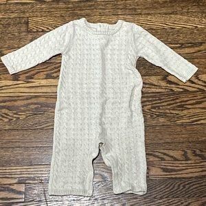 Baby Girl Cuddl Duds Sweater Jumpsuit, Never Worn